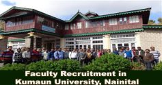 Assistant professors at Kumaon University, read more for further details